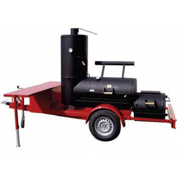"24"" Chuckwagon Catering Smoker Trailer"